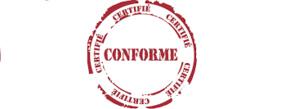 CERTIFICATION CONFORME