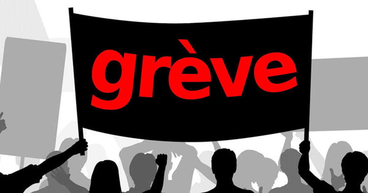 CONSTAT DE GRÈVE